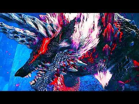 "MONSTER HUNTER WORD ICEBORNE ""Stygian Zinogre"" Trailer (2019) PS4 / Xbox One / PC"