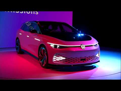 Volkswagen ID. SPACE Vizzion Concept unveiled at the Petersen Automotive Museum in Los Angeles