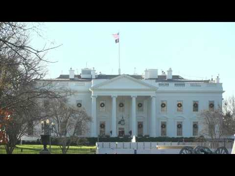 Impeachment: Images of the White House ahead of impeachment vote