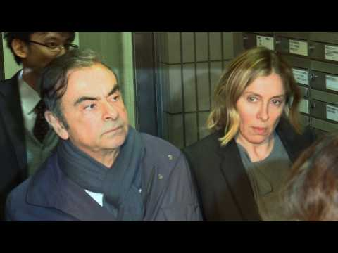Ex-Nissan chief Carlos Ghosn arrives in Beirut