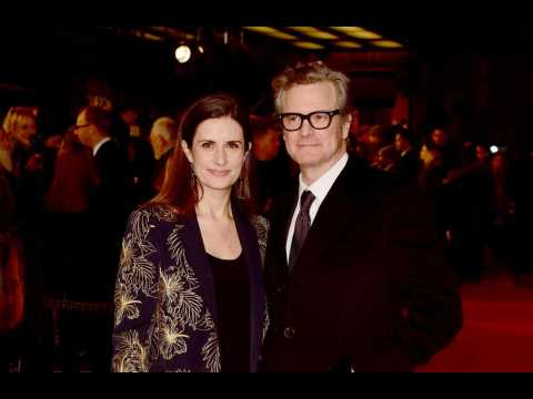 Colin Firth spent New Years Eve with his ex!