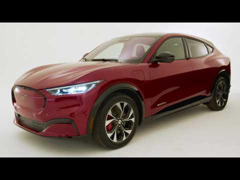 Ford Mach-E Design Preview in Studio