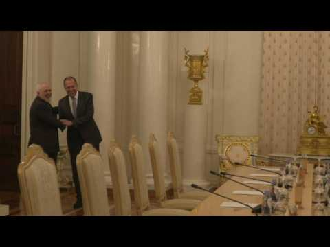 Russia's Lavrov meets with Iran's foreign minister in Moscow