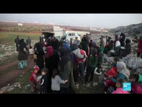War in Syria: EU, Turkey call on regime to stop bombing of Idlib province