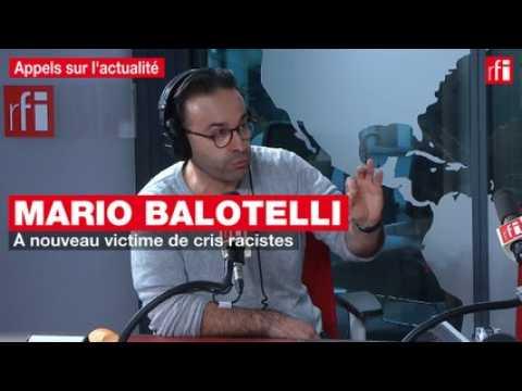 VIDEO: Mario Balotelli, à nouveau victime de cris racistes