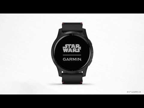 Garmin Legacy Saga Series Darth Vader: Get to Know Your Watch