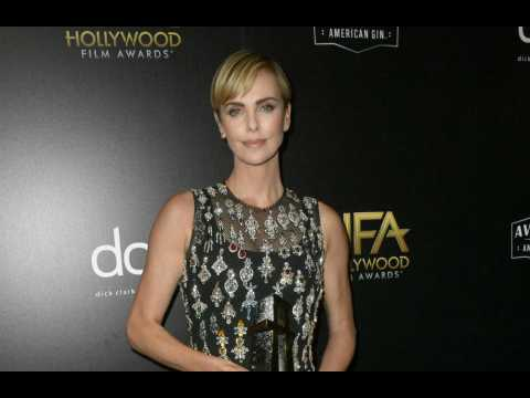 Charlize Theron recalls life-changing role as she wins Career prize at Hollywood Film Awards