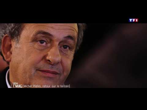 VIDEO: #Le20hLeMag – Michel Platini, retour sur le terrain