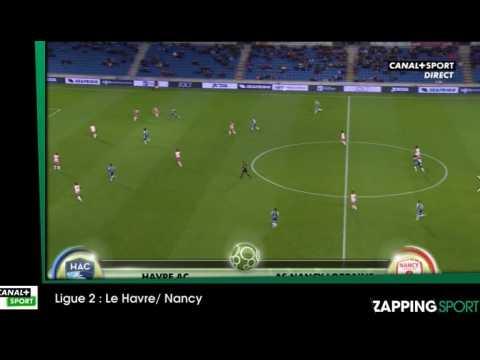 Zap sport du 5 novembre : Match nul entre Le Havre et Nancy (vidéo)