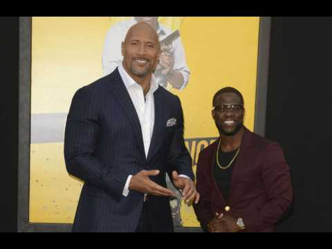 Dwayne Johnson's 'heart stopped' when he heard of Kevin Hart's crash