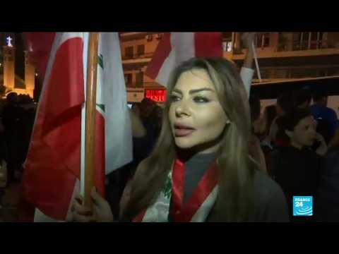 Hundreds protest in Lebanon against new Prime Minister candidate