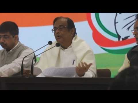 P Chidambaram, India's ex-finance minister, walks out of jail after 106 days