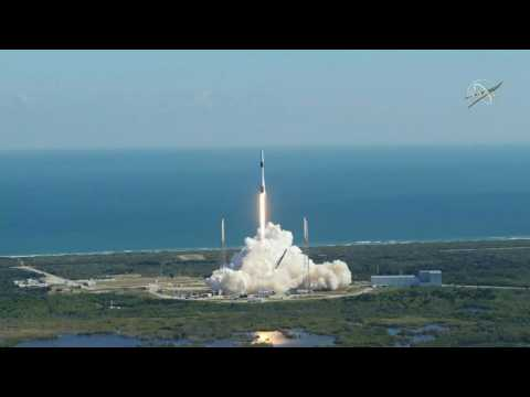SpaceX: launch of Falcon 9 to ISS for resupply mission