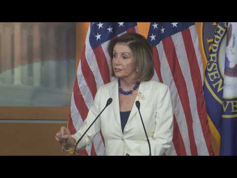Pelosi is offended by a question from a journalist about whether she hates Trump