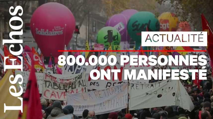 Illustration pour la vidéo Réforme des retraites : la plus forte mobilisation depuis 2010