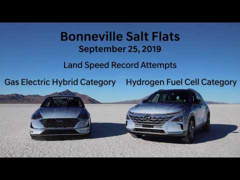 2019 SEMA - Hyundai engineering teams attempt land speed records