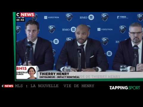 Zap sport du 19 novembre - MLS : La nouvelle vie de Thierry Henry (vidéo)