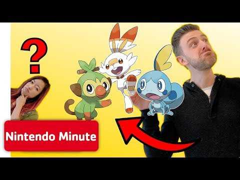 Guessing Stuff! - BE the Pokémon Challenge w/ Pokémon Sword & Pokémon Shield | Nintendo Minute