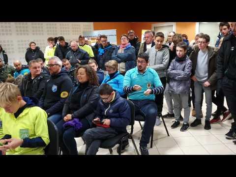 VIDEO: Des arbitres en colère à la Ligue des Hauts-de-France