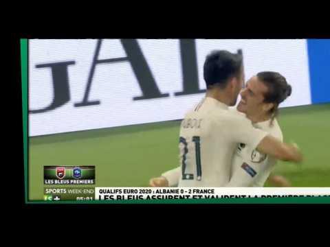 Zap sport du 18 novembre - Euro 2020 : Les Bleus premiers de leur groupe (vidéo)