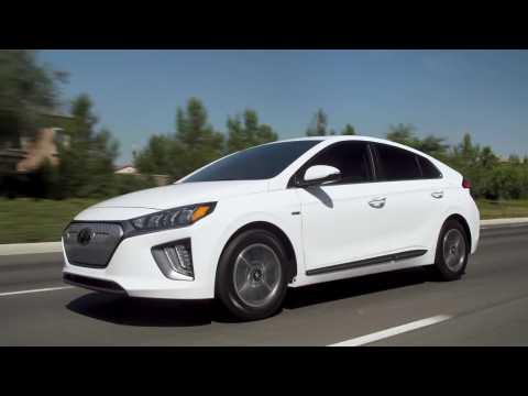 2020 Hyundai IONIQ Electric Driving Video
