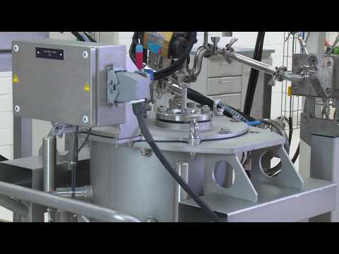 """Battery cell production at Volkswagen Salzgitter, production steps """"dosing and mixing"""""""