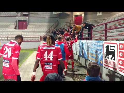 Football. Belle victoire du RAQM. Vidéo eric.ghislain@sudpresse.be