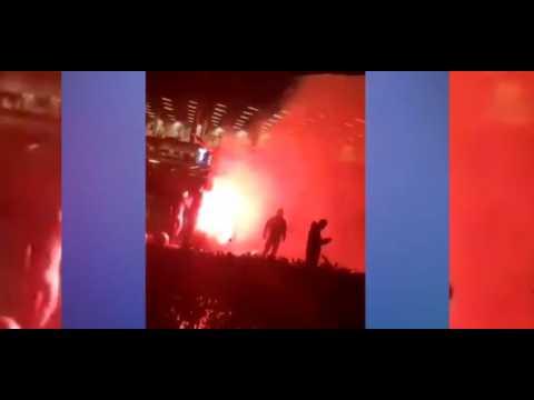 Zlatan Ibrahimovic : des fans de Malmo en colère mettent le feu à sa statue (vidéo)