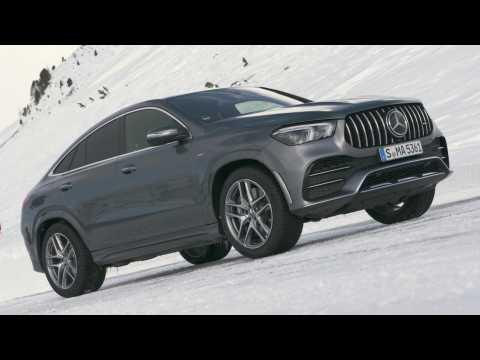 Mercedes-Benz GLE 53 4MATIC+ Coupé Design in Selenite gray