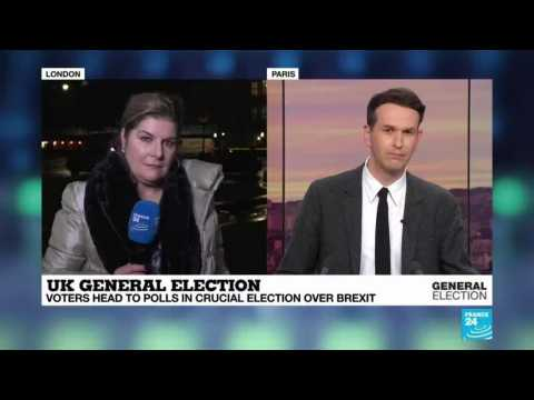 UK election: main parties nervous as clock ticks down to first exit poll results