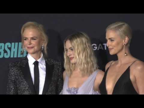 Margot Robbie dazzles at 'Bombshell' LA screening
