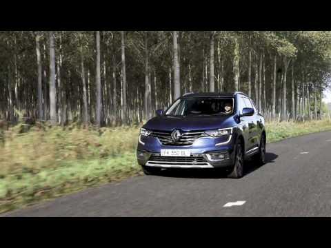 2019 New Renault KOLEOS in Saxony blue Initiale Paris version Driving Video