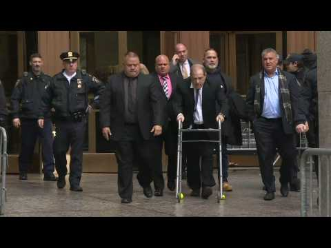 Harvey Weinstein leaves court after bail increased to $5 million