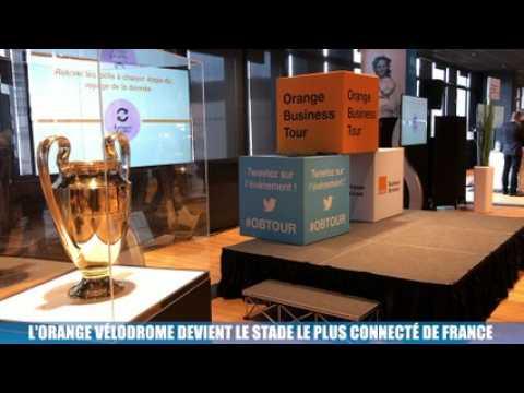 VIDEO: La Minute Eco : fibre, wifi haute-densité, 4G, 5G.... l'Orange Vélodrome devient le stade le plus connecté de France
