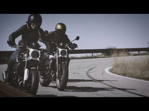 The CF Moto 700CL-X Emotional video