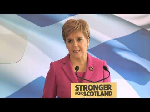 Sturgeon launches SNP election campaign