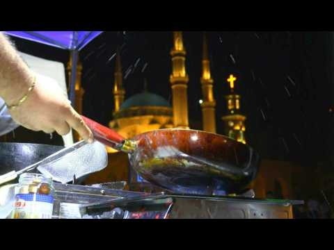 Lebanon protests a boon for street vendors