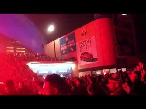 VIDEO: OM-Lyon : le cortège est arrivé devant le Vélodrome