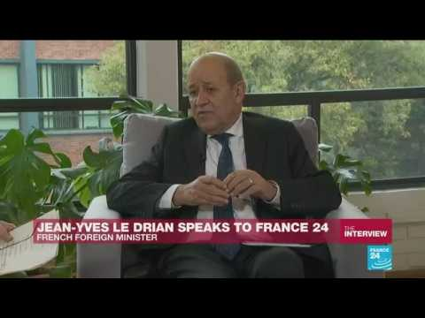French Foreign Minister Le Drian calls for stronger ties between Europe and Latin America