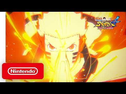NARUTO SHIPPUDEN Ultimate Ninja Storm 4 ROAD TO BORUTO - Announcement Trailer - Nintendo Switch