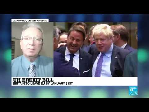 UK Brexit bill: New parliament approves PM Johnson's EU divorce deal