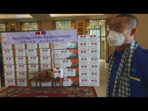 China sends medical supplies to help Cambodia fight coronavirus