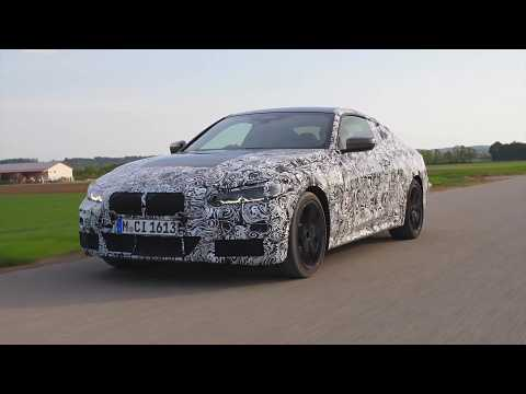 The new BMW 4 Series Coupe Driving Video