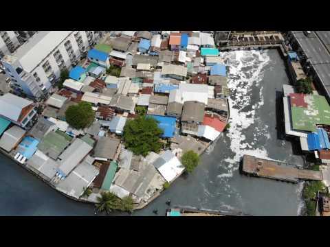 Thai authorities test for COVID-19 in Bangkok's largest slum