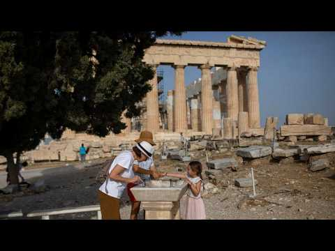 Acropolis reopens after two-month coronavirus shutdown