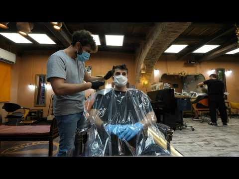 Italians hit the hair salon after restrictions lifted