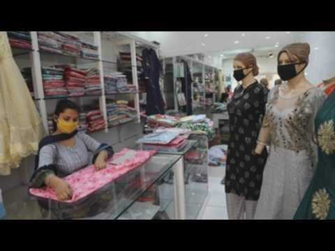 Shops in Jammu reopen as gov't eases lockdown restrictions
