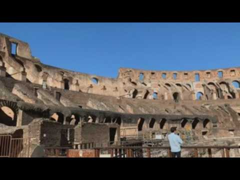 Rome's Colosseum reopens after almost three months of closure