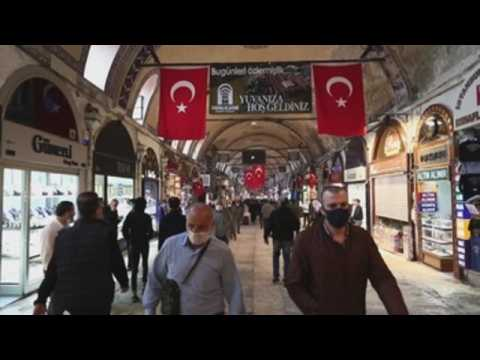 Istanbul Grand Bazaar reopens after closure due to COVID-19