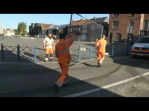 France-Belgium border reopens at Halluin/Menin